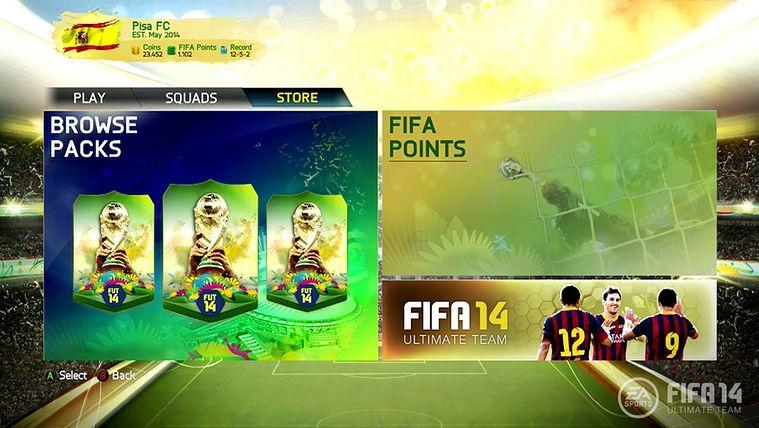 Mundialowe tryby do FIFA 14 opóźnione
