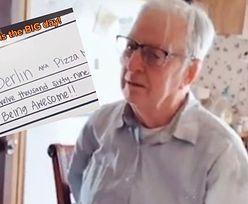 89-latek musiał pracować jako dostawca pizzy, by przeżyć. Ten napiwek zmienił jego życie