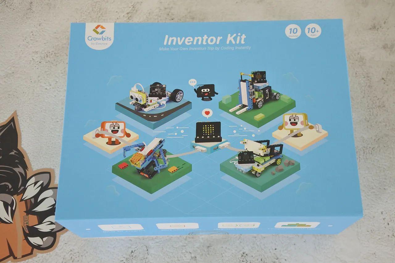 Crowbits Inventor Kit zestaw kompatybilny z płytką BBC micro:bit