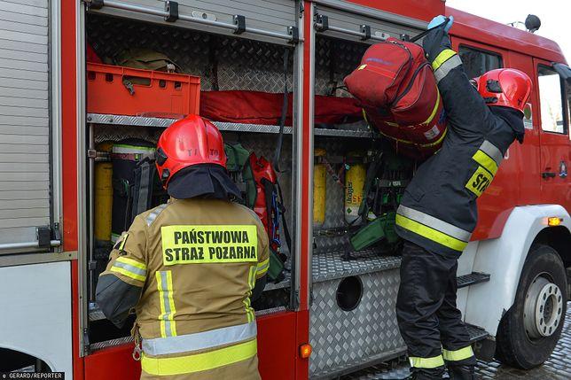 Łososina Dolna. Trwa wyjaśnianie powodów pożaru. (zdjęcie ilustracyjne)