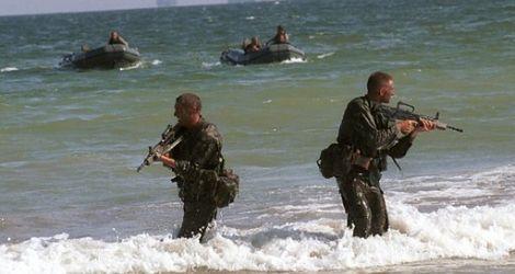 Ekstremalny facet czyli komandos w akcji
