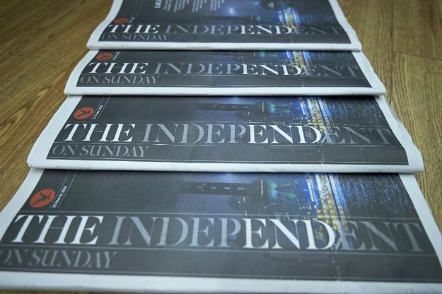 """""""Smutny dzień dla dziennikarstwa"""". """"The Independent"""" po raz ostatni ukazał się w druku"""