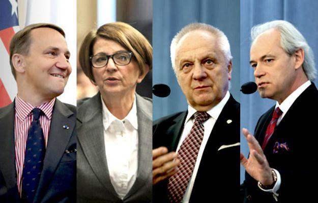 Ekspert: Pitera, Szejnfeld czy Sikorski szkodzą PO i powinni mieć zakaz występowania w telewizji