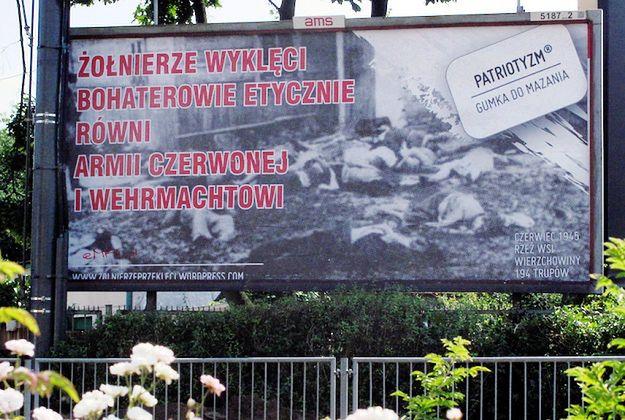 Anarchiści z Poznania zrównują Żołnierzy Wyklętych z Wehrmachtem i Armią Czerwoną