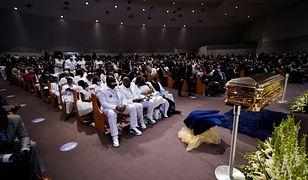 USA. W Houston rozpoczął się pogrzeb George'a Floyda