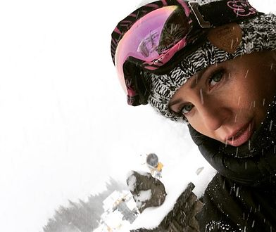 Agnieszka Woźniak-Starak i sylwester w górach