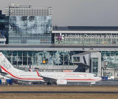 Alarm bombowy na Lotnisku Chopina. Służby zakończyły akcję