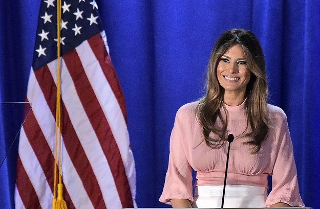 Melania Trump wygłosiła pierwsze od lipca przemówienie