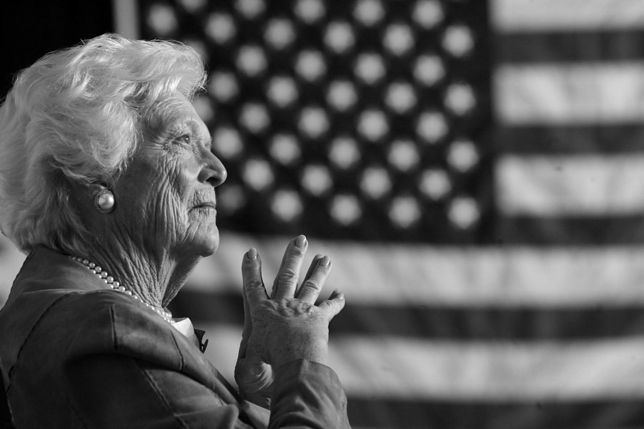 Nie żyje Barbara Bush, była pierwsza dama. Miała 92 lata