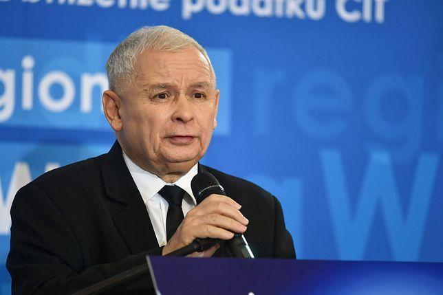 Jarosław Kaczyński podsumował wybory samorządowe