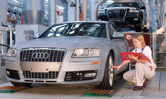 Największe inwestycje w historii Audi