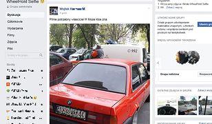 Dzięki Facebookowi w kilkanaście minut znaleziono właściciela auta, z którego ulatniał się gaz