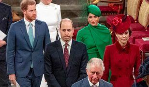 Harry, William, Meghan i Kate razem na uroczystości w opactwie Westminster
