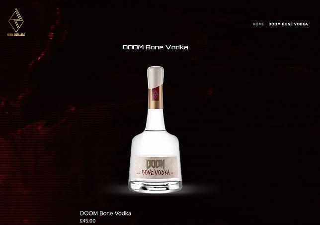 Doom Vodka dostępna do zamówienia w przedsprzedaży.