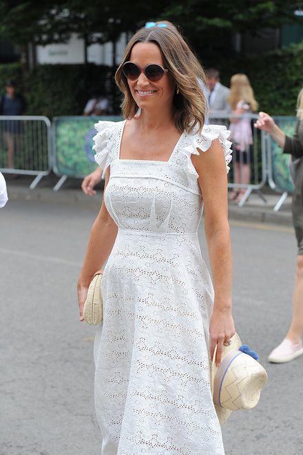 Pippa Middleton promienieje w ciąży