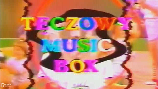 """Logo programu """"Tęczowy Music Box"""""""