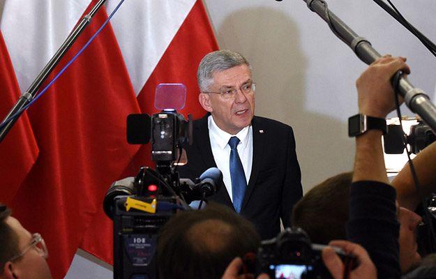 Marszałek Senatu Stanisław Karczewski: zachowanie Petru to duża polityczna niezręczność