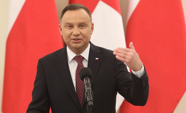 Andrzej Duda wypowiedział się na temat nowej administracji w USA