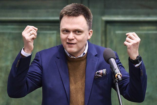 Szymon Hołownia rozważa start w wyborach. Ma wsparcie wicemarszałek Senatu