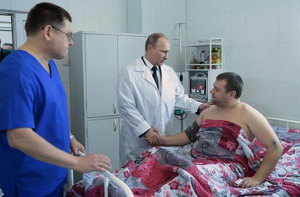 Niezapowiedziana wizyta Władimira Putina w Wołgogradzie