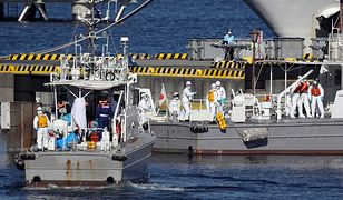 Koronawirus z Chin. Polacy na pokładzie uwięzionego w Jokohamie wycieczkowca. 10 zarażonych pasażerów