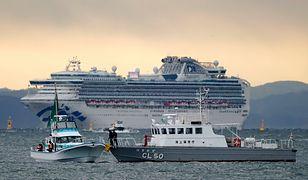 Koronawirus z Chin. Już 20 zarażonych osób na pokładzie Diamond Princess. Na pokładzie wycieczkowca są Polacy