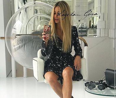 Małgorzata Rozenek i jej ''nowy'' kolor włosów. Użyła złego hashtagu