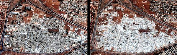 Jedna z dzielnic Hamy; fotografie wykonano we wrześniu i w październiku 2012 r.
