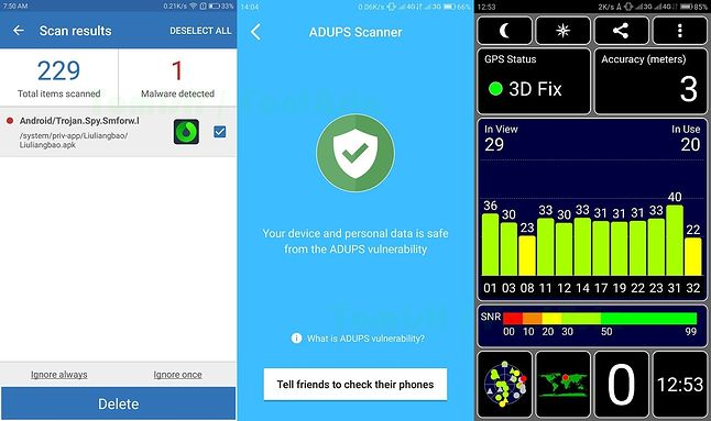 Malware / Test ADUPS / GPS
