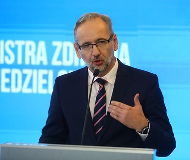 Koronawirus w Polsce. Minister zdrowia Adam Niedzielski