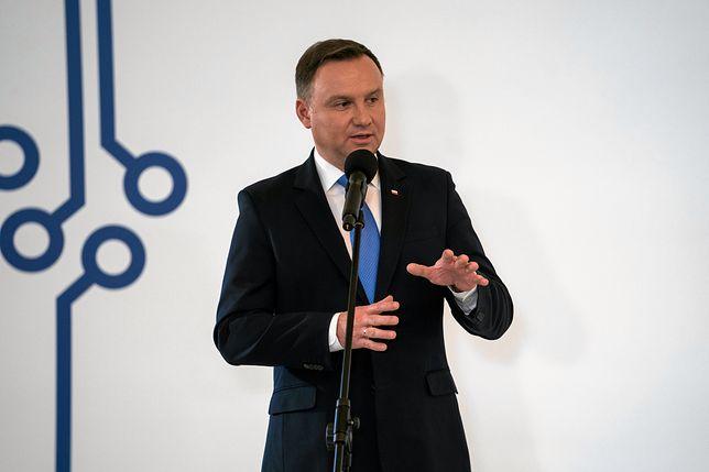 Prezydent Andrzej Duda chce aby Polska uczestniczyła w podboju kosmosu