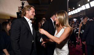 Brad Pitt i Jennifer Aniston mają wspólnie spędzać izolację
