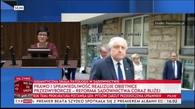 TVP Info publikuje nagranie z rzekomo tajnej narady sędziów z politykami PO.