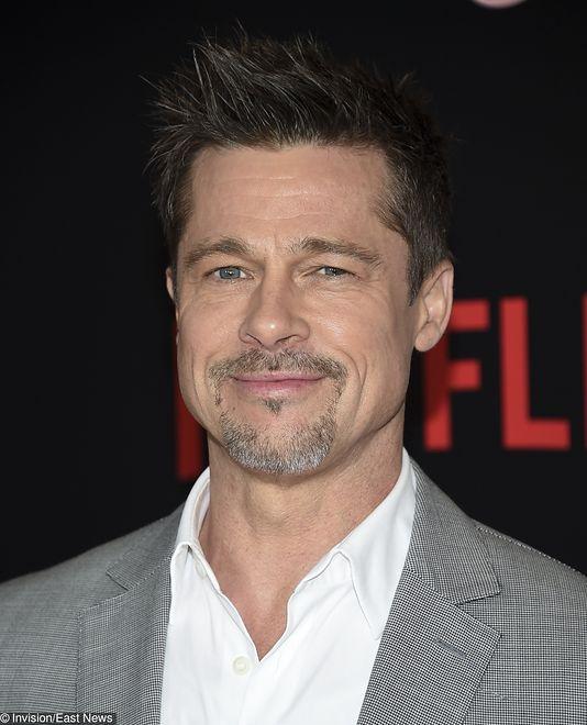 Brad Pitt naśladuje swoje partnerki