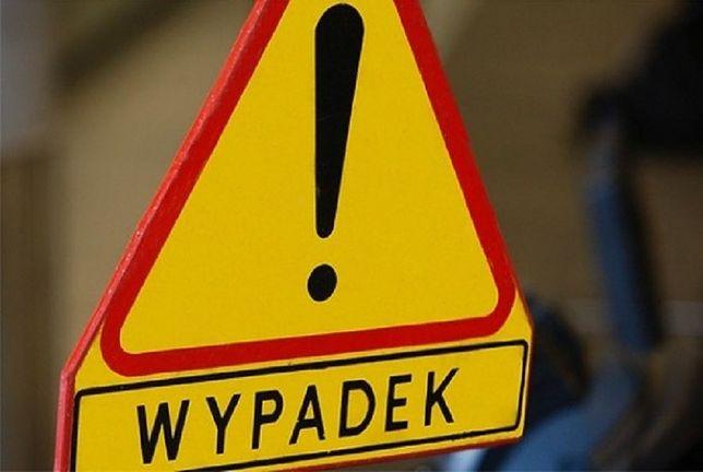 Wypadek na Grójeckiej. Zablokowane dwa pasy