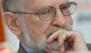 IPN cenzuruje tablicę poświęconą pamięci Bronisława Geremka
