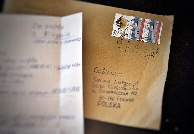 Niezwykły list do Allegro. Prośba zdziwiła pracowników, ale ją spełnili