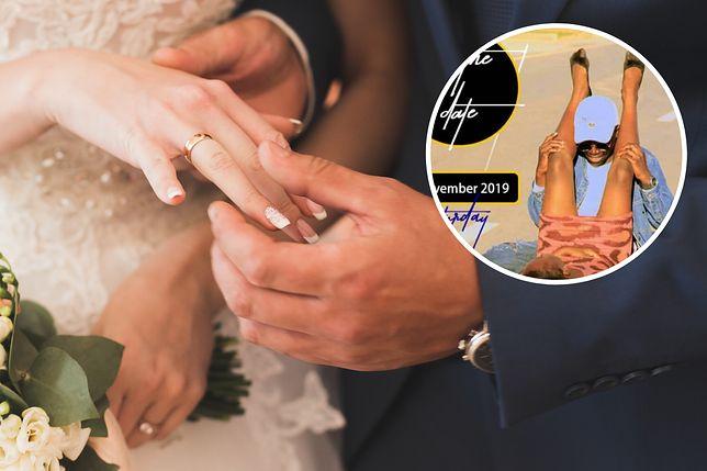 Nietypowe zaproszenie ślubne. Internauci pytają, czy pan młody jest ginekologiem