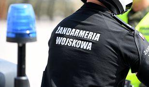 Samochód osobowy nie ustąpił pierwszeństwa przejazdu prawidłowo jadącemu żandarmowi na motocyklu