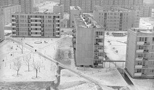 Warszawskie blokowiska w latach 70.