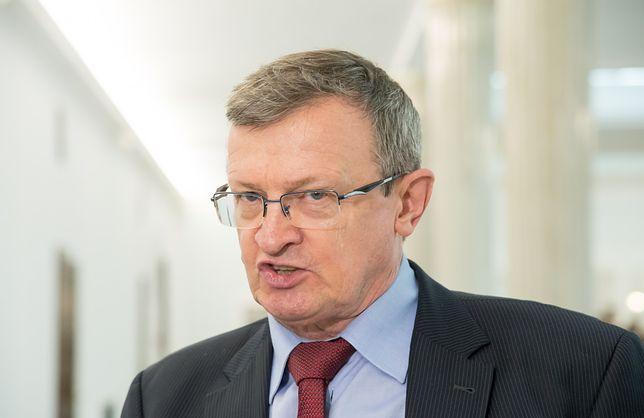 """Wybory prezydenckie 2020. Tadeusz Cymański: """"Andrzej Duda nie zmarnował tych lat. My go popieramy""""."""
