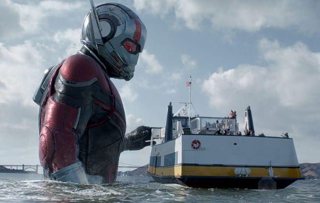 W dwójce Scott Lang pojawia się też jako Giant-Man