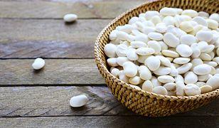 Ziarna białej fasoli są bogate w nienasycone kwasy tłuszczowe