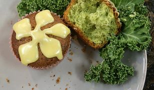 Muffiny z jarmużem. Słodka przekąska według Ewy Wachowicz