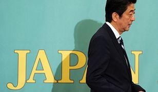 Premier Japonii Shinzo Abe ostrzega świat przed ekspansją Chin