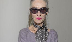 67-letnia Linda Rodin w akcji. Modelka-seniorka wypuszcza linię szminek