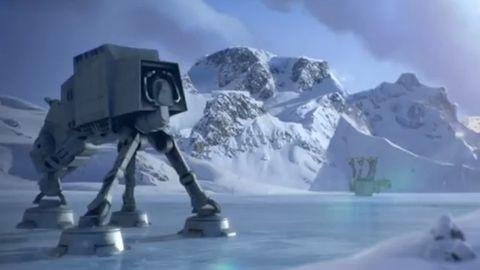 Imperium atakuje nasze gniazdo na Hoth. Wściekłe Ptaki, do boju! [Angry Birds: Star Wars]
