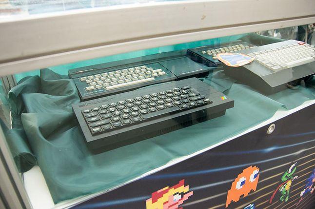 ZX Spectrum plus w gablocie na stoisku RetroGralnych…