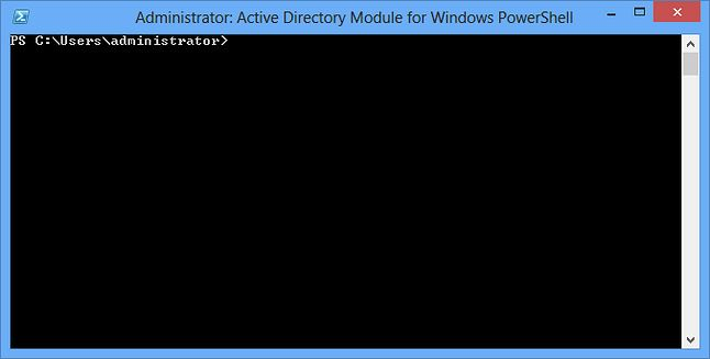Active Directory Module for Windows PowerShell