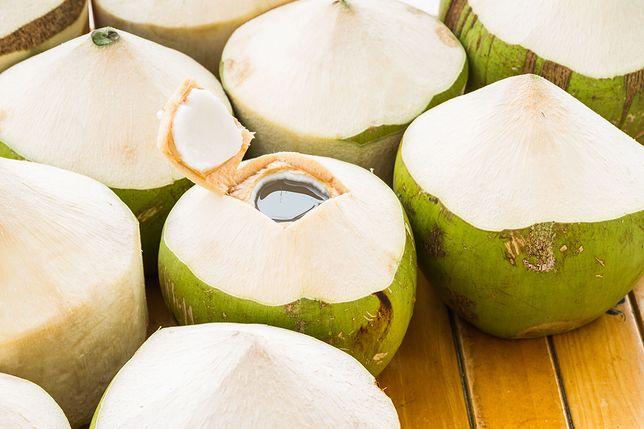 Woda kokosowa jest skarbnicą soli mineralnych